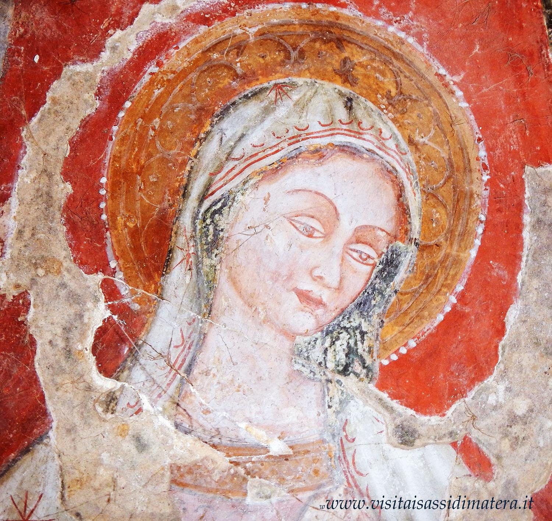 chiesa rupestre Matera. Madonna