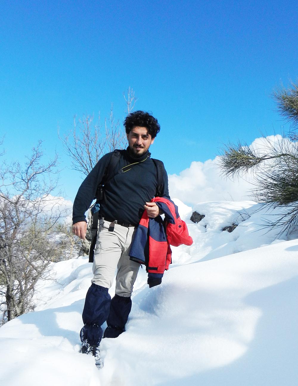 guida escursionistica matera, Parco delle Dolomiti Lucane escursioni in montagna sulla neve