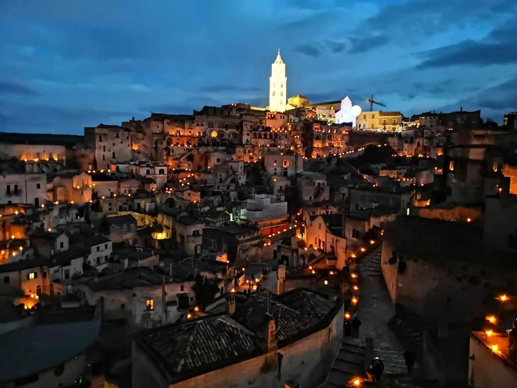 Visita guidate serale o notturna nei Sassi di Matera